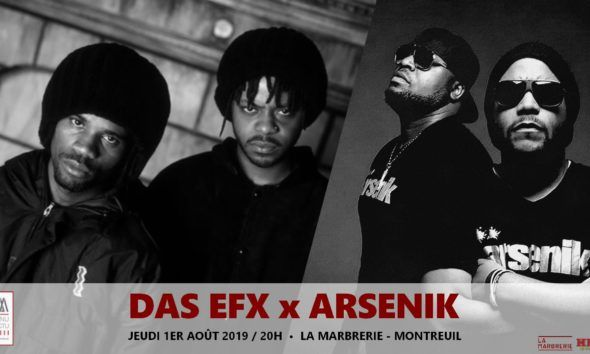 image concert das efx & arsenik montreuil