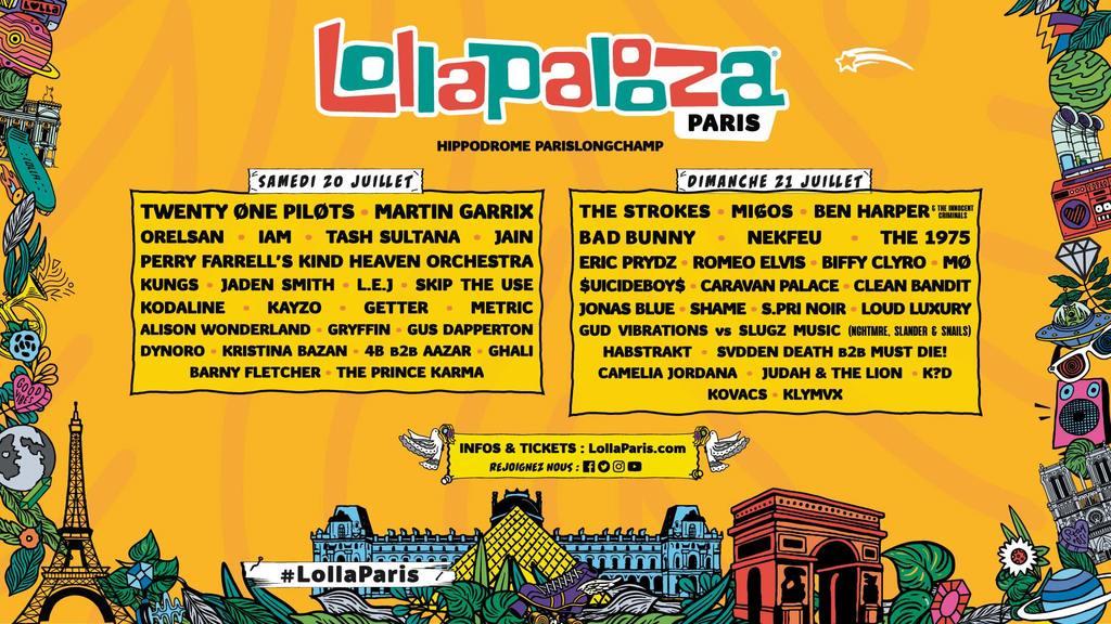 image Gagnez vos places pour le festival Lollapalooza à Paris image