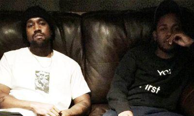 """image Madlib : """"il existe plein de collaborations entre Kanye West et Kendrick Lamar"""""""