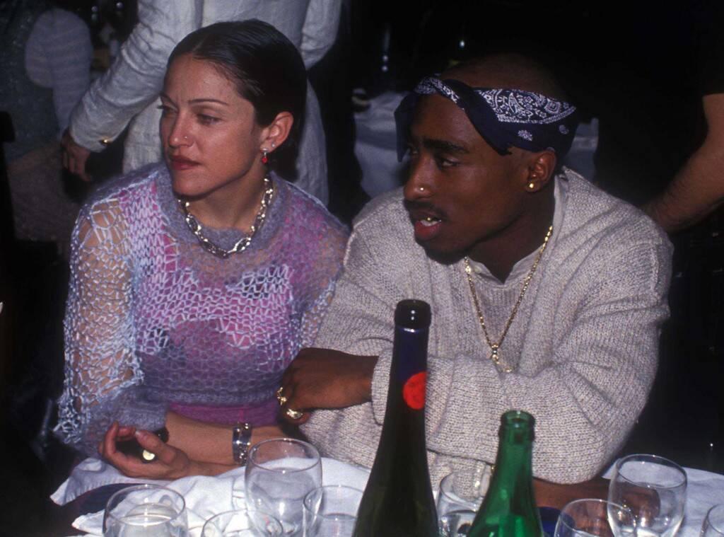 image Tupac a mis un terme à sa relation avec Madonna parce qu'elle était blanche