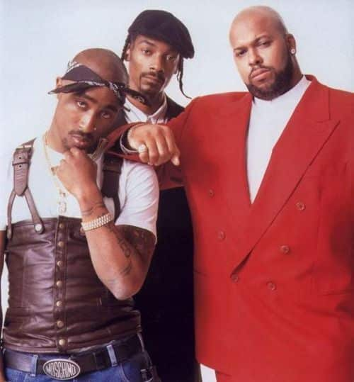 Tupac, Snoop Dogg & Suge Knight