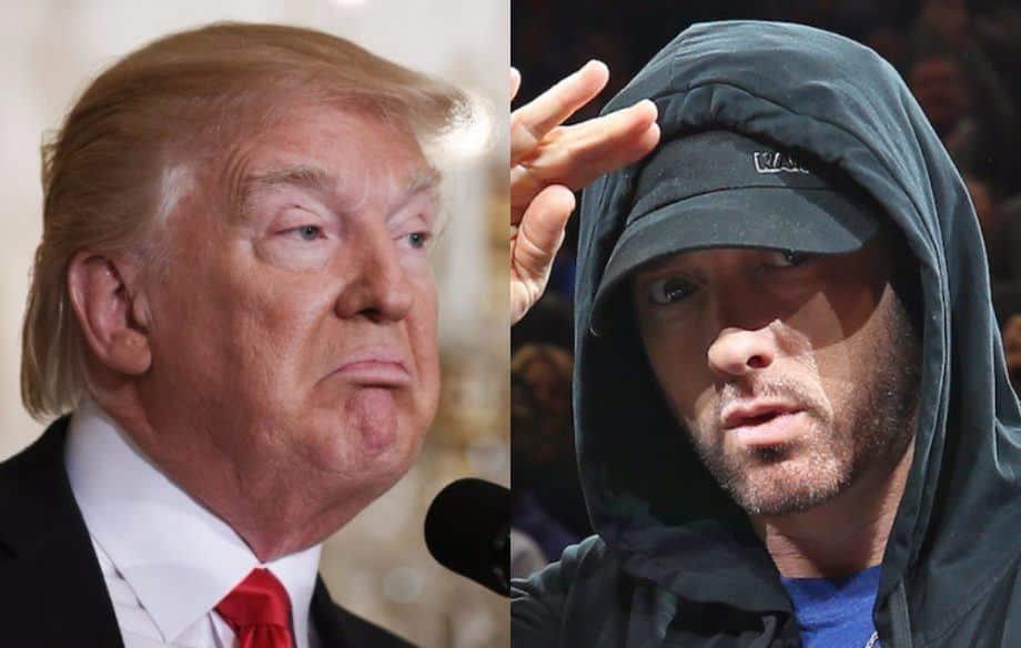 Eminem Services secrtes anti- DonaldTrump