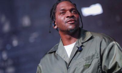 CHICAGO, IL - JULY 19: Pusha-T performs at Union Park on July 20, 2019 in Chicago, Illinois. (Photo by Michael Hickey/Getty Images)