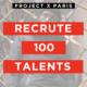 Devenez ambassadeur et portez les couleurs de Project X Paris