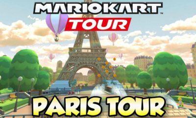 Pendant 15 jours, Mario Kart va célébrer Paris et la France
