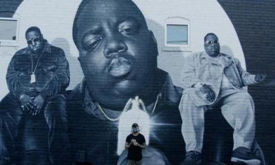 Une nouvelle fresque magnifique célèbre l'héritage de Biggie à Atlanta
