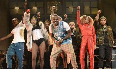 """DaBaby rejoue le clip de """"Bop"""" en live au SNL"""