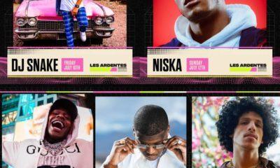 PNL, Ninho, Niska, Dj Snake, DaBaby et Rilès : les têtes d'affiches rap du festival Les Ardentes