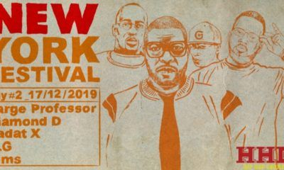 New York Fest 2019 avec Large Professor, Diamond D