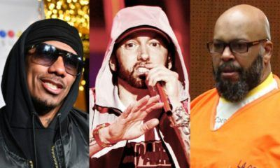 Nick Cannon balance une diss track contre Eminem, avec Suge Knight