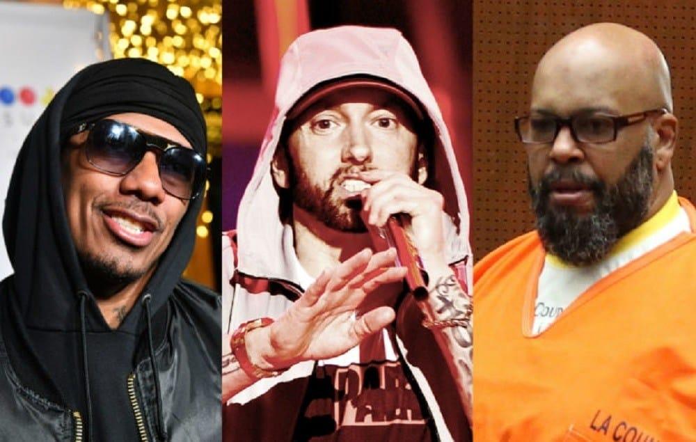Nick Cannon balance une diss track contre Eminem, avec Suge Knight