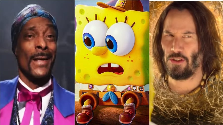 Snoop Dogg et Keanu Reeves seront dans le film Bob l'Eponge