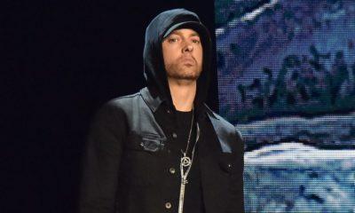 Eminem charbonne en studio en ce moment même