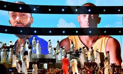 l'hommage émouvent à Nipsey Hussle et Kobe Bryant aux Grammy's