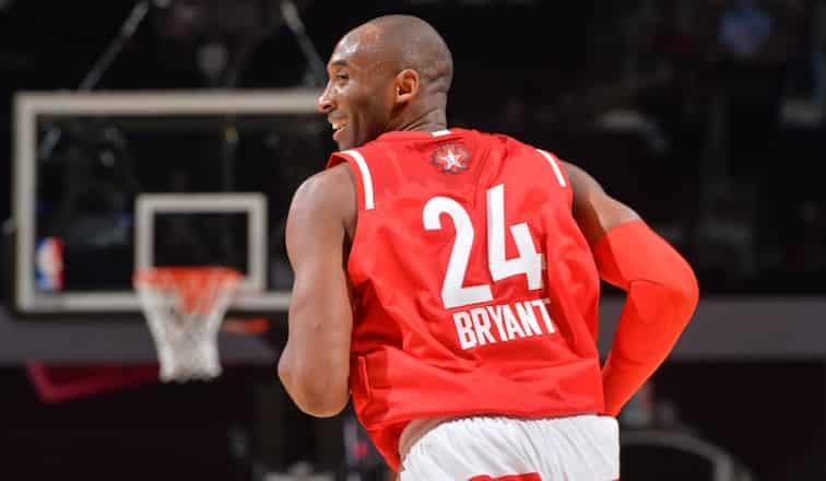 Kobe Bryant NBA all-star Game changement
