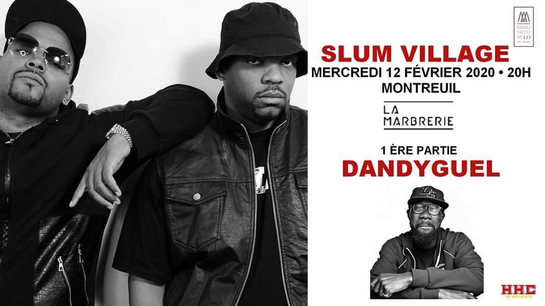 Concours concert de Slum Village à Montreuil