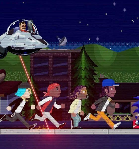 """Wiz Khalifa : le clip rétro de """"Speed Me Up"""" avec Sonic"""