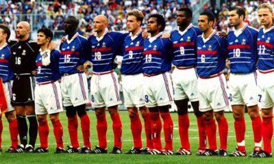 Equipe de France 1998 revival maillot Euro 2020
