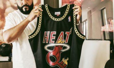 Dj Khaled arbore le maillot du Heat