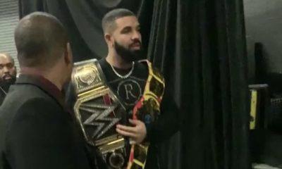 Drake trolle Bucks avec ceinture de catch