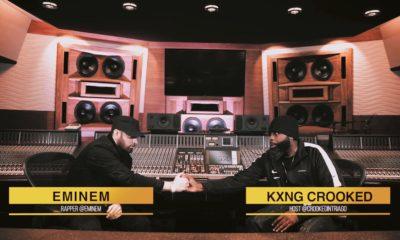 Revivez la longue interview d'Eminem avec KXNG Crooked traduite enfrançais