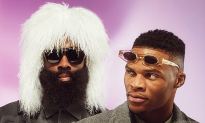 James Harden Russel Westbrook hommage Outkast cover GQ