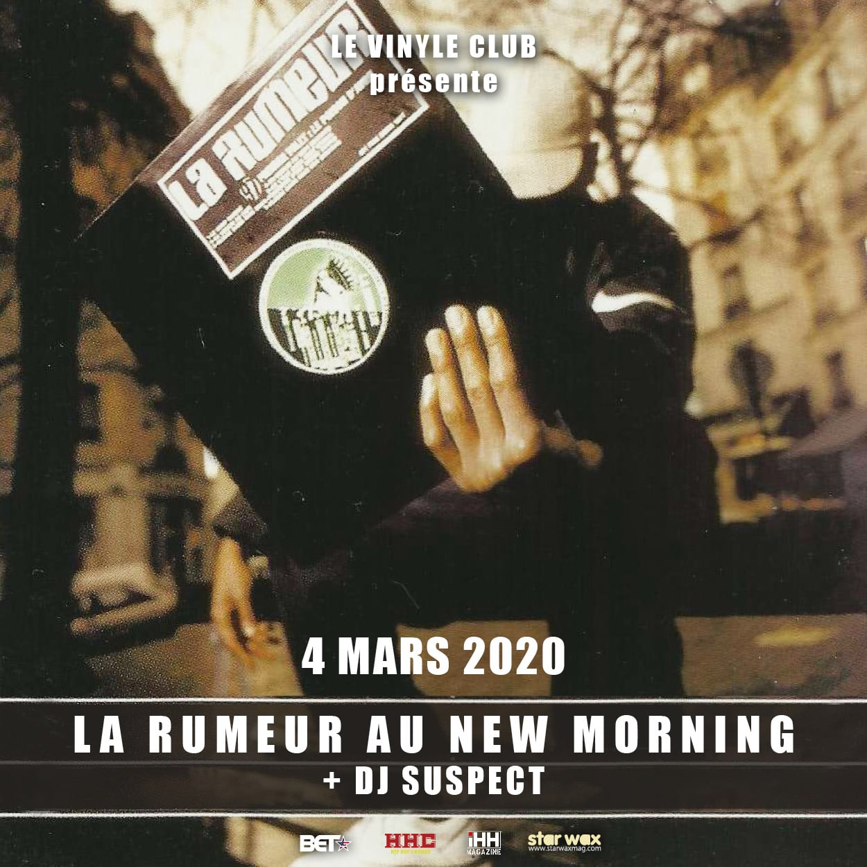 La Rumeur concert New Morning 2020