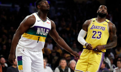 LeBron James et Zion Williamson