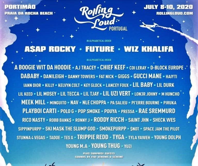 Le Rolling Loud Festival débarque au Portugal avec la crème du rap US