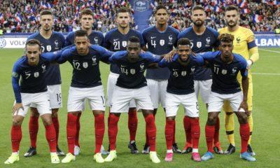 Equipe de France nouveau maillot Euro 2020