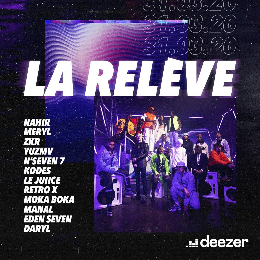 Deezer La Relève compilation 3