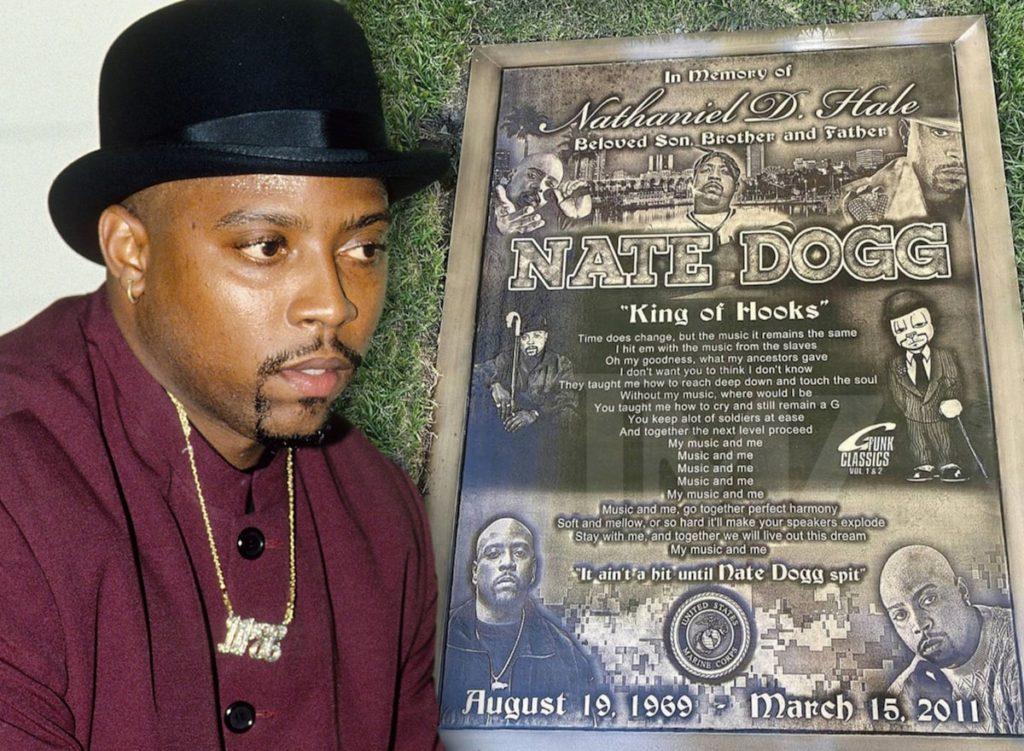 Nate Dogg : sa nouvelle pierre tombale est une oeuvre d'art
