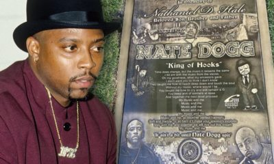 Nate Dogg : sa nouvelle pierre tombale est une oeuvre d'art