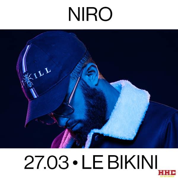 Niro concert le Bikini Toulouse