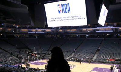 NBA salle vide