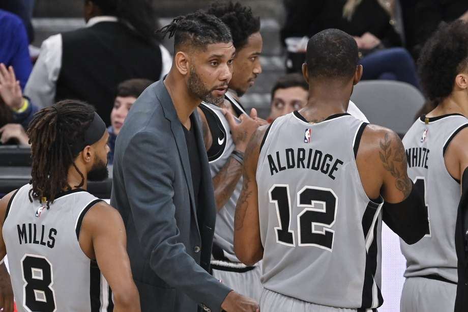 Tim Duncan coach Spurs