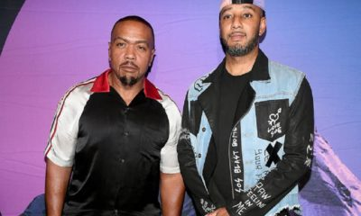 Timbaland & Swizz Beatz beat battle Instagram