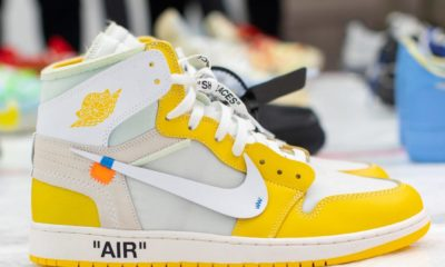 Nouvelle paire Off-White x Air Jordan 1
