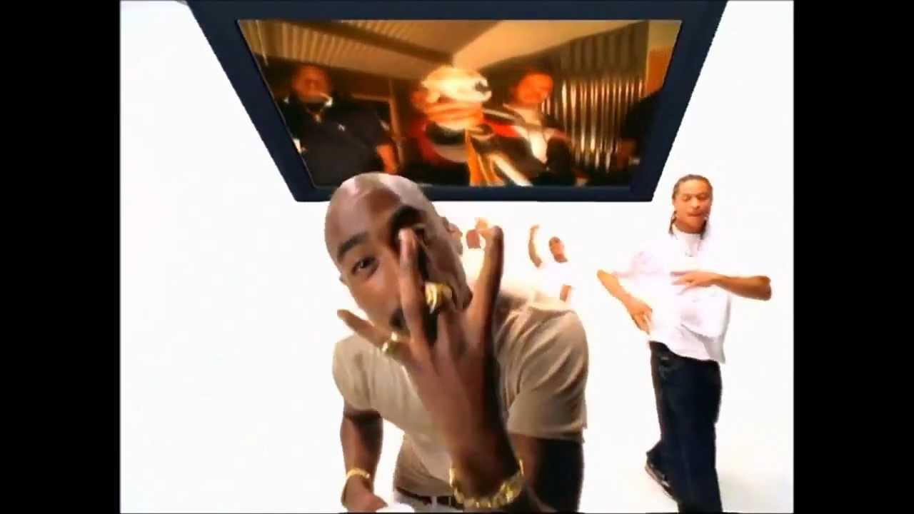 Tupac dans le clip de hit em up