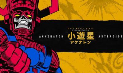 Akhenaton et Just Music Beats album Astéroïde