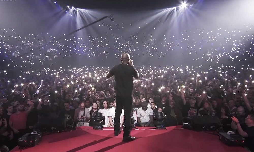 Revivez le concert de Kery James à l'AccorHotel Arena sur France 2