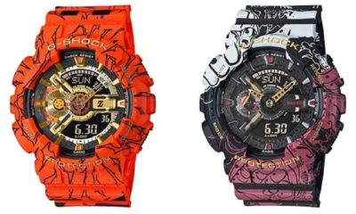 G-Shock collaboration DBZ One Piece