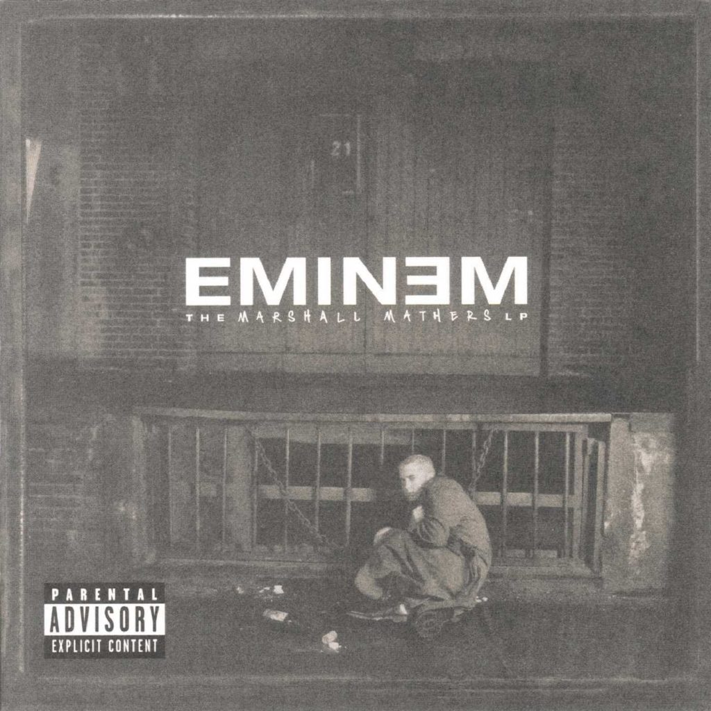 """couverture album """"The Marshall Mathers LP"""""""