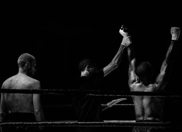 Le rappeur A.B un champion de boxe