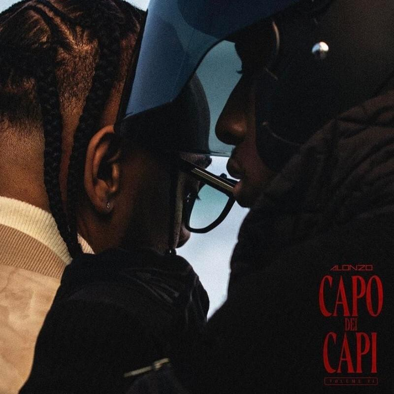 "Pochette de la mixtape ""Capo Dei Capi Vol 2"" de Alonzo"