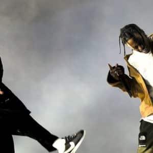 Kendrick disque de platine avec Goosebumps