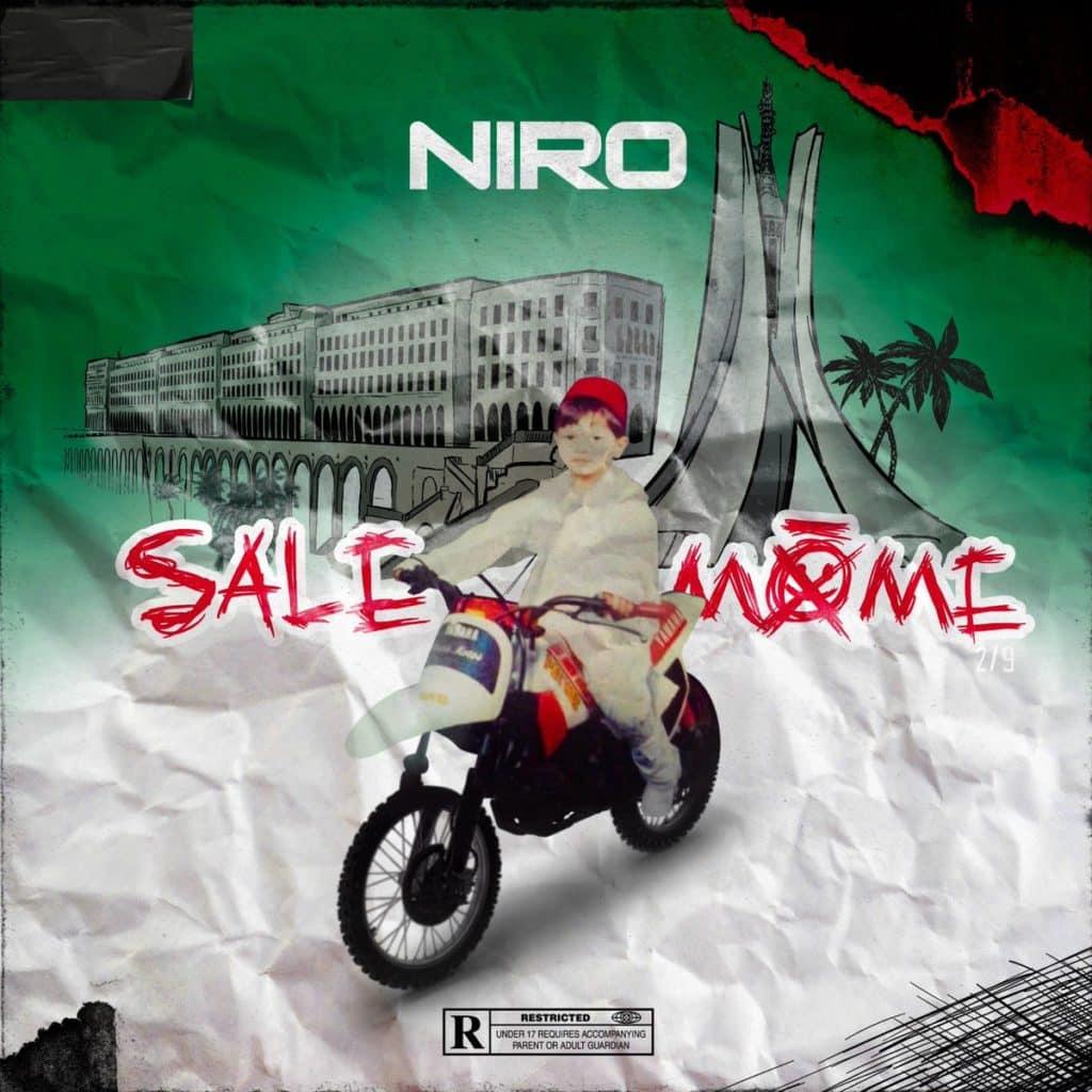 """Pochette de l'EP """"Sale Môme Partie 2"""" de Niro"""