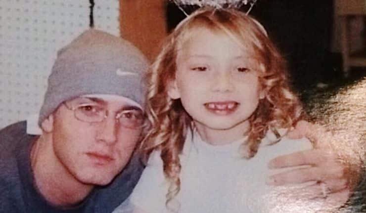 Eminem et sa fille Hallie Jade