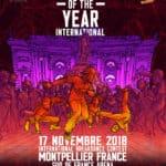 Gagnez vos places pour le Snipes Battle Of The Year International 2018 à Montpellier