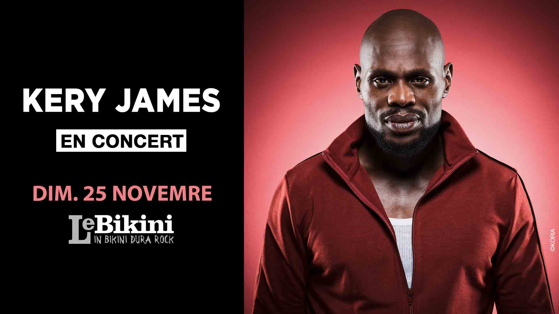 image kery james concert toulouse 2018